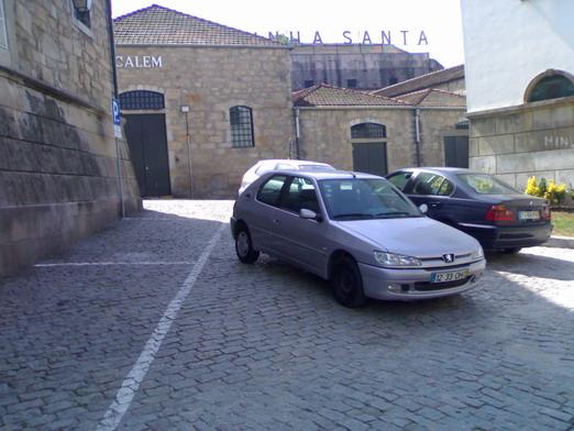 Portugál parkolás