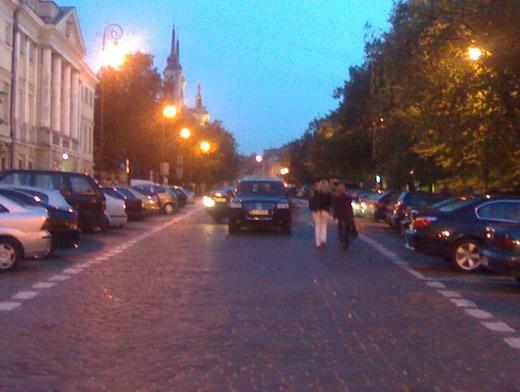 Varsói parkolás