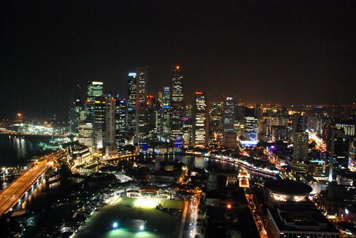 Szingapúr by night