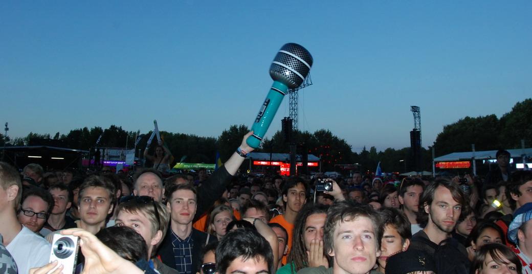 Gumi mikrofon, Sziget Fesztivál