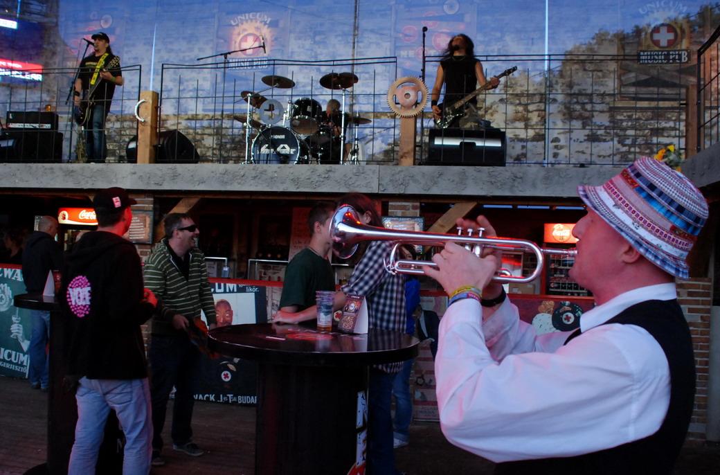 Music pub, Sziget fesztivál