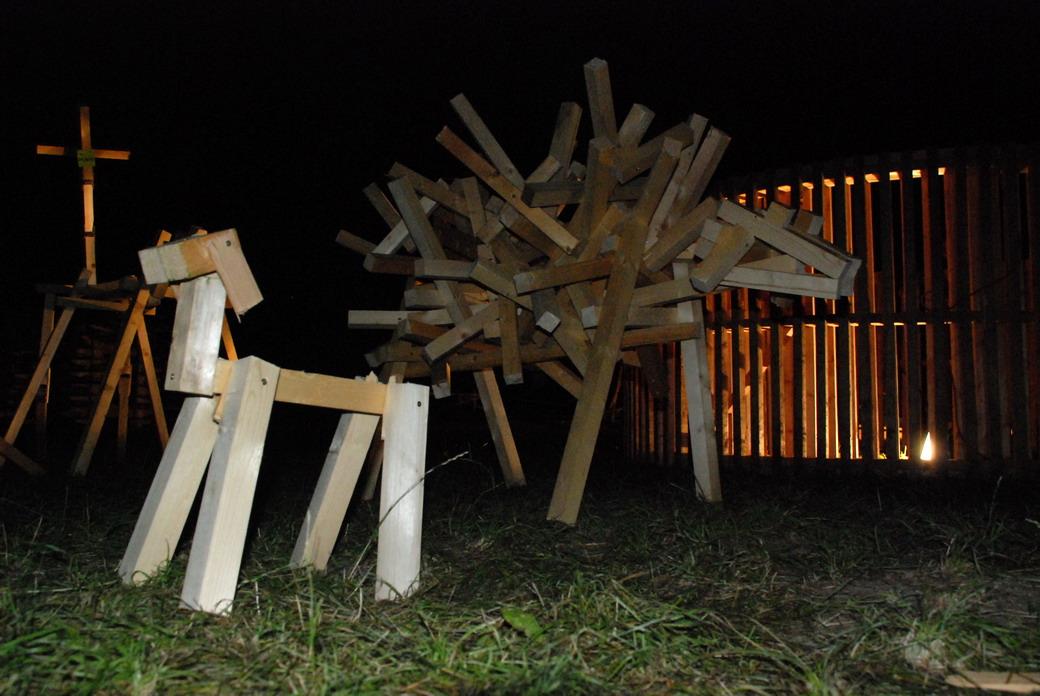 Hello Wood, Báranyépítés, Sziget Fesztivál, Budapest
