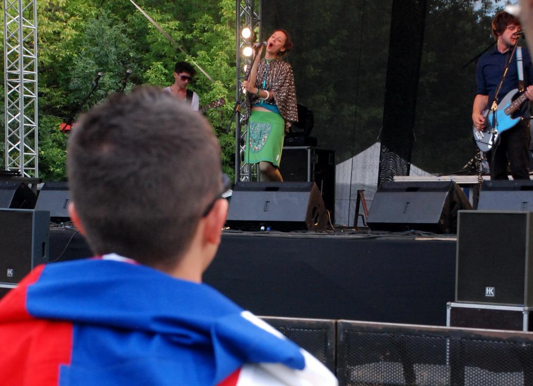 Puding Pani Elvisovej, Sziget Fesztivál, Budapest