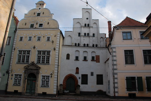 Öreg házak, Riga, Lettország