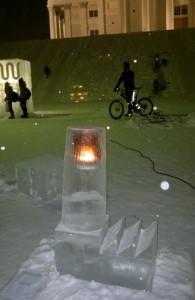 Jéggyárlámpa -- Frozen Lights, Helsinki
