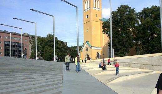 Tallin új tér