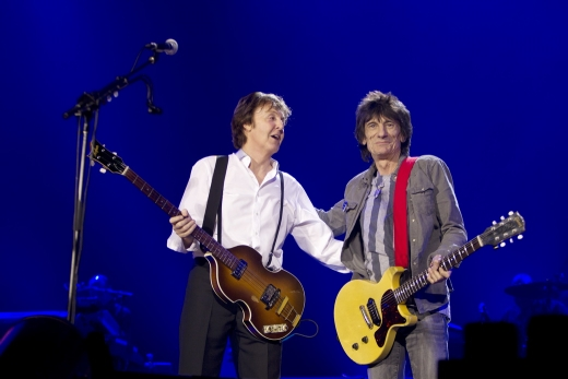 Paul McCartney & Ronnie