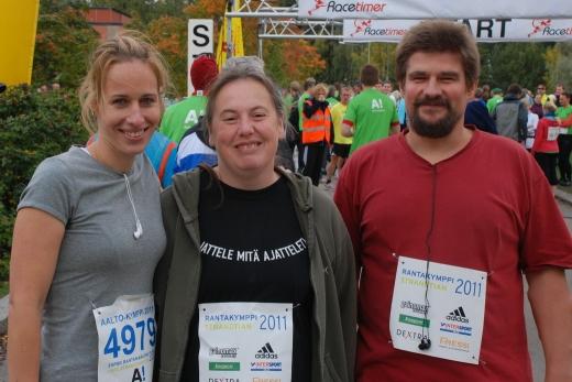 Juju, Ralloú, Matusz a futóverseny elött