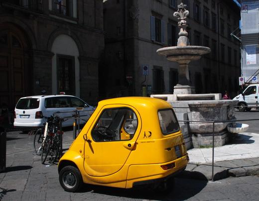 Firenze, bringatároló