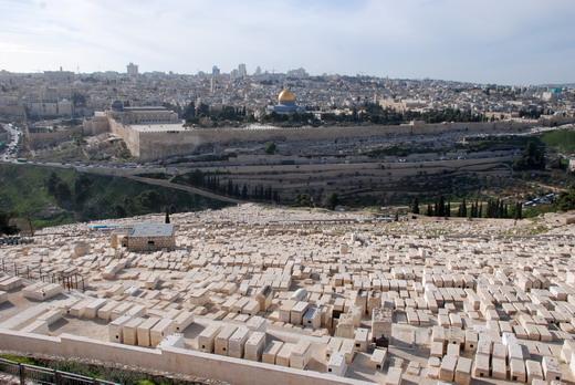 Jeruzsálem az Olajfáktól