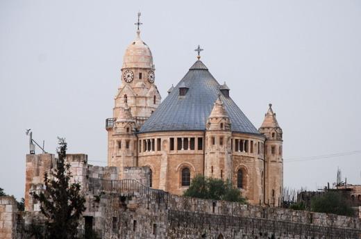 Mt.Zion, Dormition Abbey