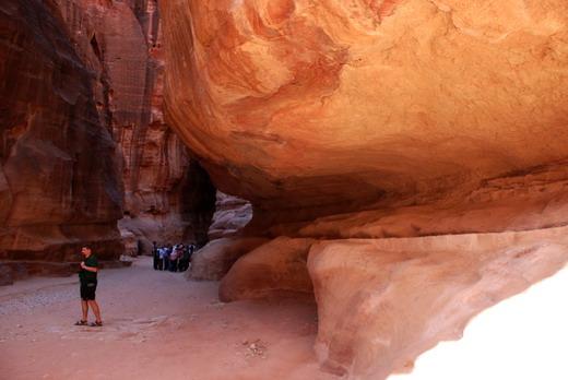 Petra, kanyon